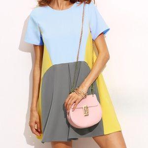 Dresses & Skirts - New Blue and Yellow Shirt Dress